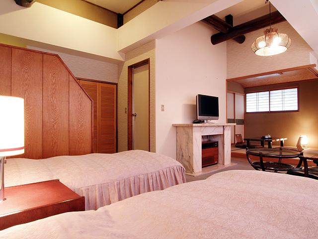 Semi-Japanese-style room